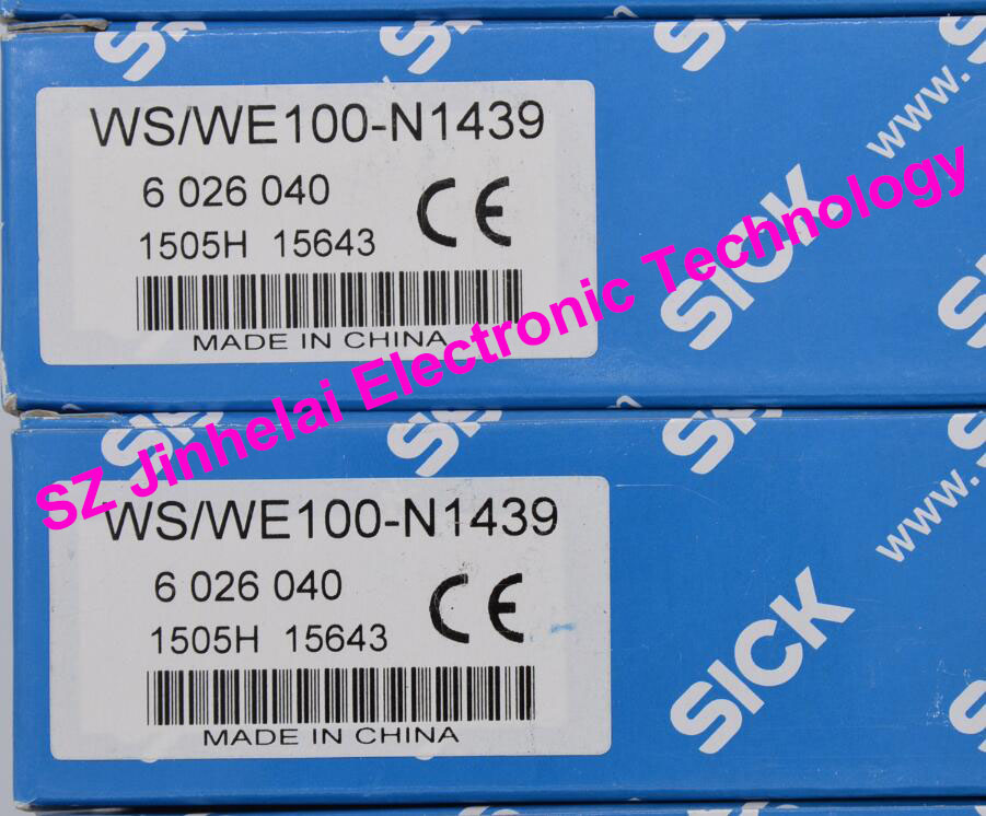 New and original WS/WE100-N1439 ( is WS100-D1032+WE-N1432) SICK Photoelectric sensor sick photoelectric switch reflex sensor wt100 n1432