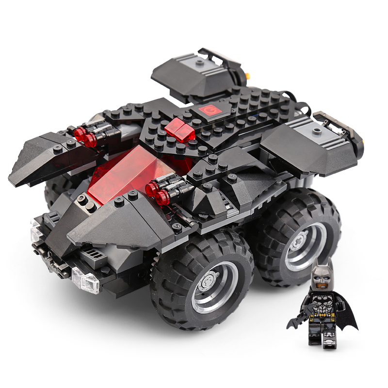 Superhero Series 07111 App-controlled Batmobile Set Compatible Wuth 76112 Building Blocks Bricks Kids Assemble Gift