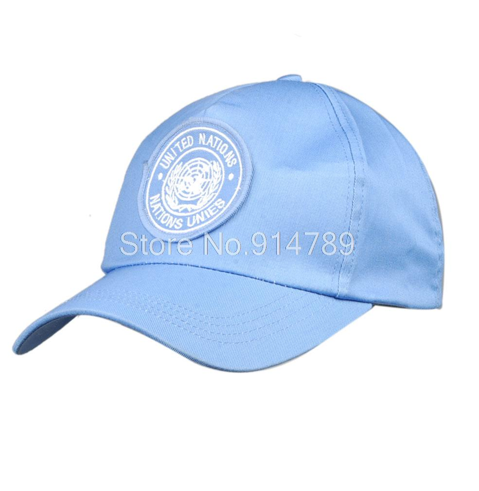 UNITED NATIONS PEACEKEEPING FORCE   BASEBALL     CAP   HAT-34382