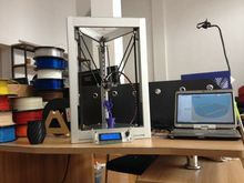Новый Полностью Алюминиевый самосборки коссель принтер дельта delta 3D принтер принтер Reprap DIY полный комплект росток 3d принтер