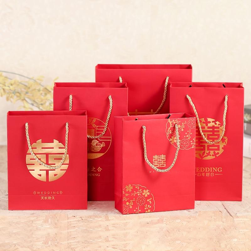 Wedding Gift China: 20pcs Chinese Style Wedding Gift Bag Wedding Creative