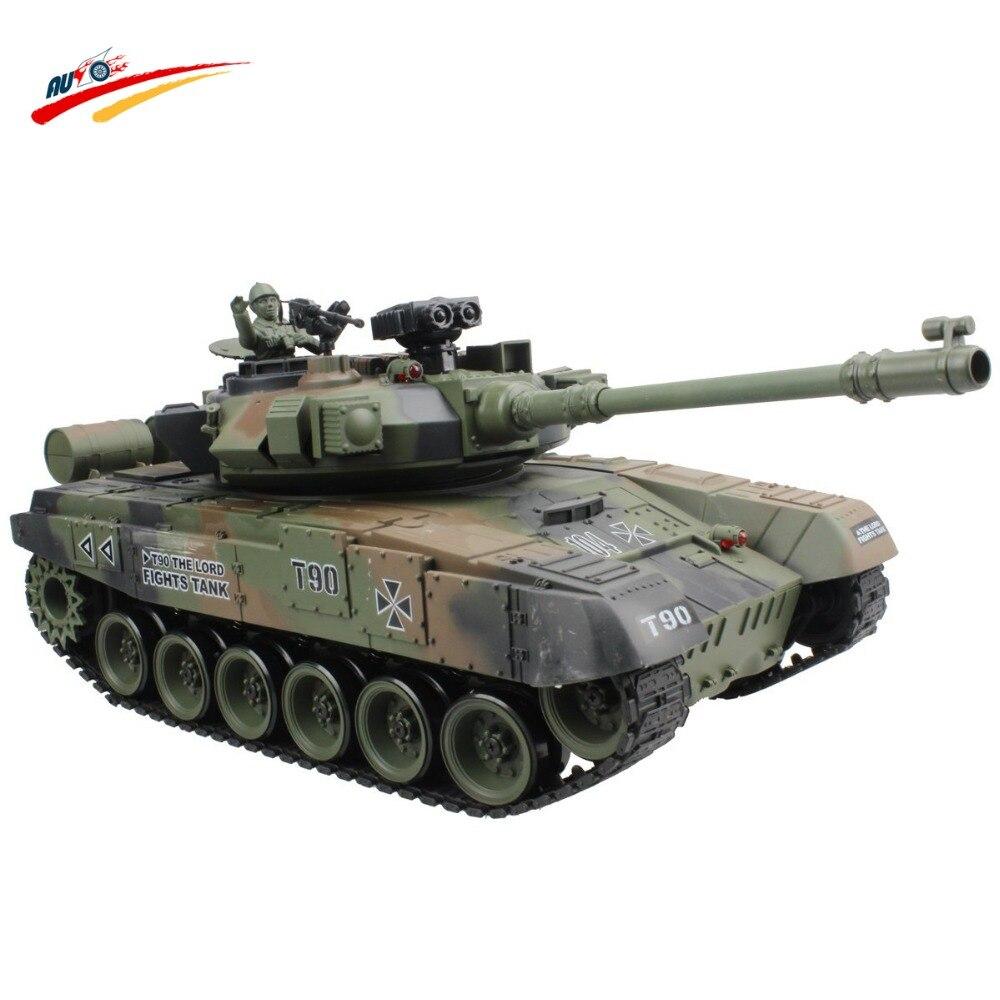 Р/У танки русский T-90 основной боевой танк 15 канал 1/20 Модель со звуком и стрелять пулей эффект отдачи танк модели электронные игрушка