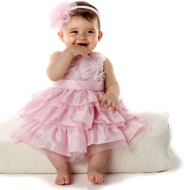 5fd4f7b7cb7bb 2017 Infant Vestido summer dress lace casual dress lovely little party dress  baby girl flower dress