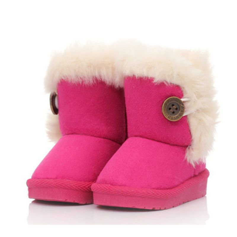 Children Snow Boots Kids Winter Shoes