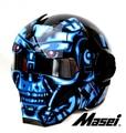 Личность мотоциклетный шлем Подлинных мужчин и женщин железный человек высокого класса off-road мотоцикл ретро Блюз
