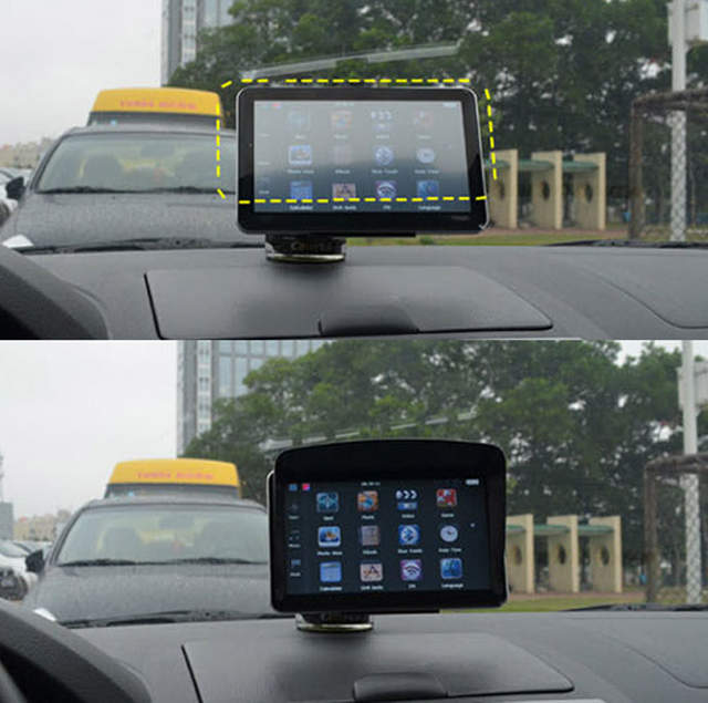placeholder Universal 5inch   4.3inch Car GPS Sun Shade Visor Anti Glare  4.3