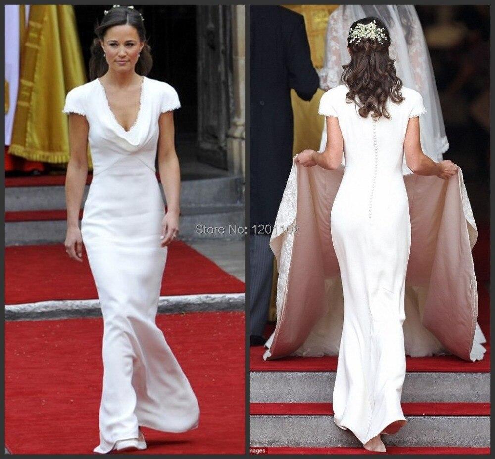 Online buy wholesale pippa middleton dress from china for Pippa middleton wedding dress buy
