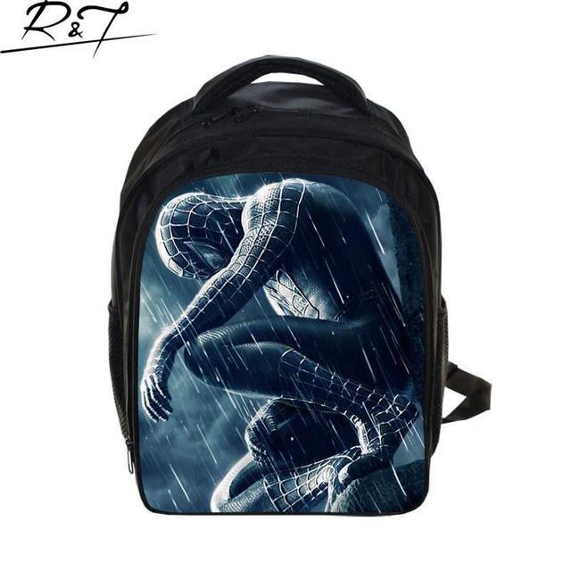 children spiderman school bags 2016 new cartoon spider man printing schoolbags kids backpack for girls&boys,mochila infantil