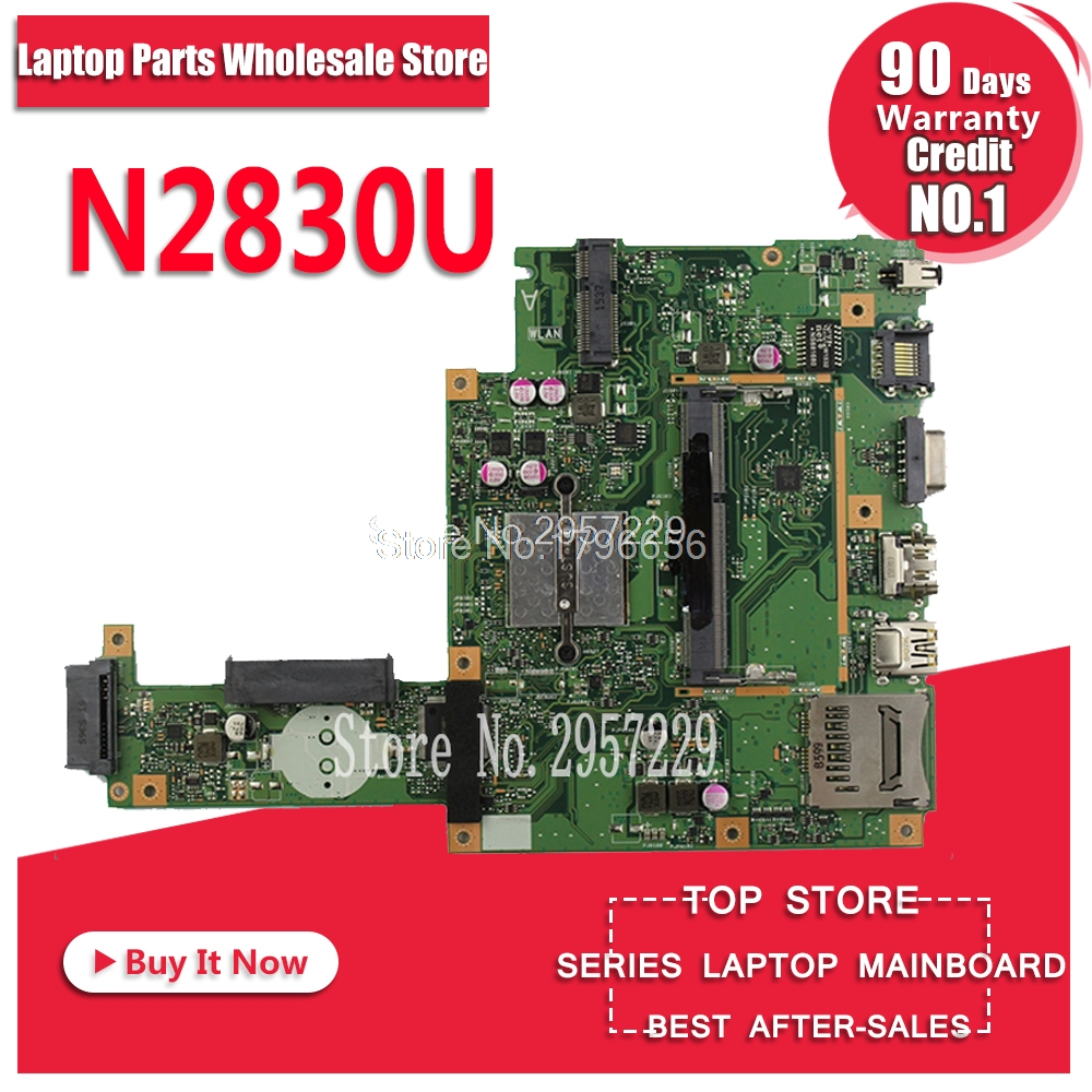 X453MA Motherboard N2830-REV:2.0 For ASUS X453M X403MA Laptop Motherboard X453MA Mainboard X453MA Motherboard Test 100% Ok