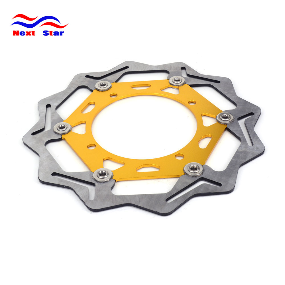 270 Front Floating Brake Disc Rotor For SUZUKI RM125 RM250 DRZ250K DR250R RMX250 DR350 DRZ400 Motorcycle Enduro Dirt Bike red gripper soft seat cover for suzuki rm125 rm250 rm 125 250 01 08 motorcycle motocross supermoto dirt bike off road enduro