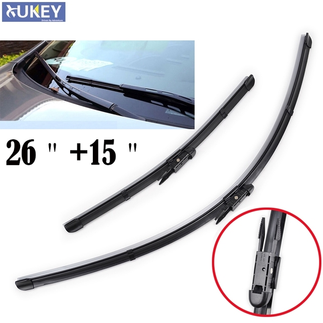 Xukey Windshield Wiper Blades For Holden Commodore VE VF Windscreen Car 2006 2007 2008 2009 2010 2011 2012 2013 2014 2015 2016