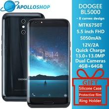 Doogee BL5000 Android 7.0 12V2A Quick Charge 5050 мАч 5.5 »FHD MTK6750T Octa core 4 ГБ Оперативная память 64 ГБ Встроенная память двойной 13.0MP Камера смартфон