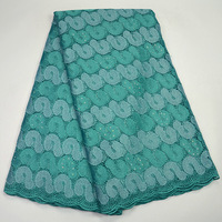 2017 Latest African Cord Lace Fabric Hot sale Guipure Lace high Quality Fashion French Lace Fabric For Nigerian Wedding ST539
