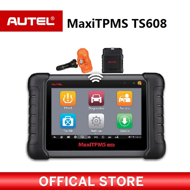 Autel MaxiTPMS TS608 complete TPMS & all system service tablet tool complex functions of TS601,MD802 and MaxiCheck Pro стоимость