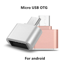 Micro USB OTG adapter Camera USB Flash android phone OTG cable Connector Micro USB male to USB female