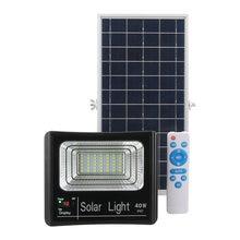 Светодиодный уличный прожектор на солнечной батарее водонепроницаемый
