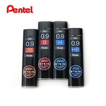 LifeMaster Pentel Stein, lápiz de sílice mejorado de plomo 0,9*60mm HB, B, 2B para lápices mecánicos C279 suministros de escritura