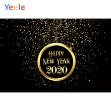 Yeele 2020 New Year Family Photocall Bokeh Light Photography Backdrops Personalized Photographic Backgrounds For Photo Studio недорого