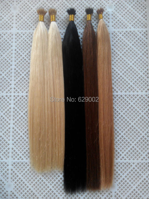 7a Grade Natural Nano Ring Hair Extensions 1gs 100gpack Indian