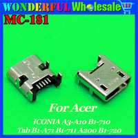 New Micro USB DC Charging Socket Port Connector For ACER ICONIA A3 A10 B1 710 Tab