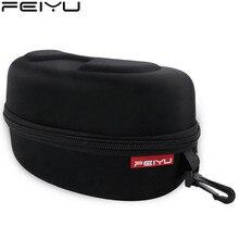 FEIYU Ski goggles box Protection EVA Snow Skiing Goggles Box Shockproof Waterproof Snowboard Bag Eyewear original Case