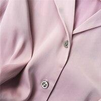 Kobiety Elegancki Wzburzyć Szyfonowa Bluzka Z Długim Rękawem Big Size Kobiety Odzież Odzież Damska Bluzki Koszula Topy Casuais Welur 50F0011