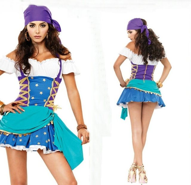 big discount halloween costume adult ladies gypsy maiden costume holiday christmas costumes adult halloween costume