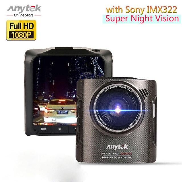 Anytek A3 автомобиля Камера регистраторы Ночное видение 1920x1080 170 градусов Full HD Автомобильные видеорегистраторы Новатэк 96655 автопарк dashcam черный ящик