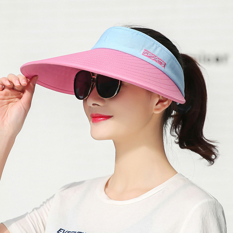 Adjustable size 2019 summer fashion straw hat leisure vacation tourism big hat sun hat beach hat folding big woman head in Running Caps from Sports Entertainment
