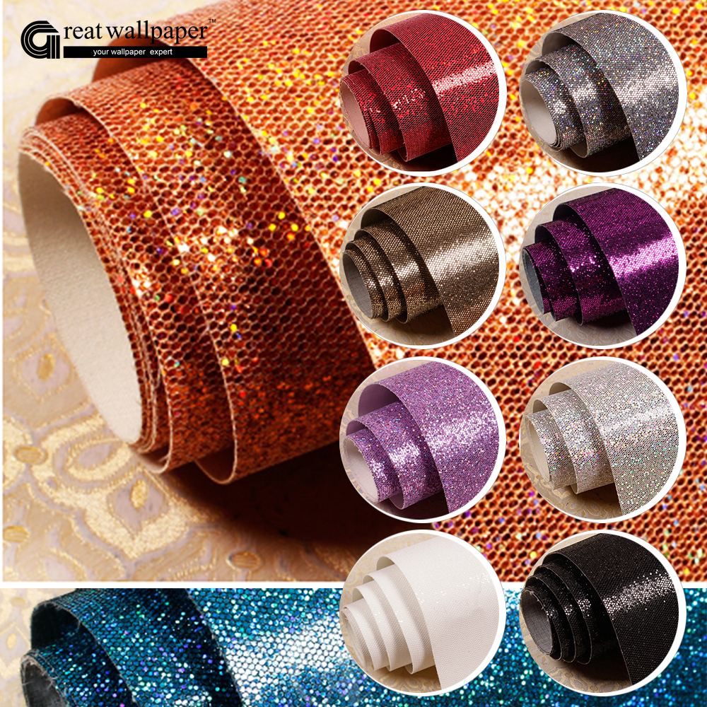 Black white silver gold purple pink shiny shine flash for Wallpaper roll