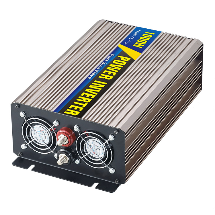 High efficiency 1000W Car Power Inverter Converter DC 12V to AC 110V or 220V Pure Sine Wave Peak 2000W Power Solar inverters