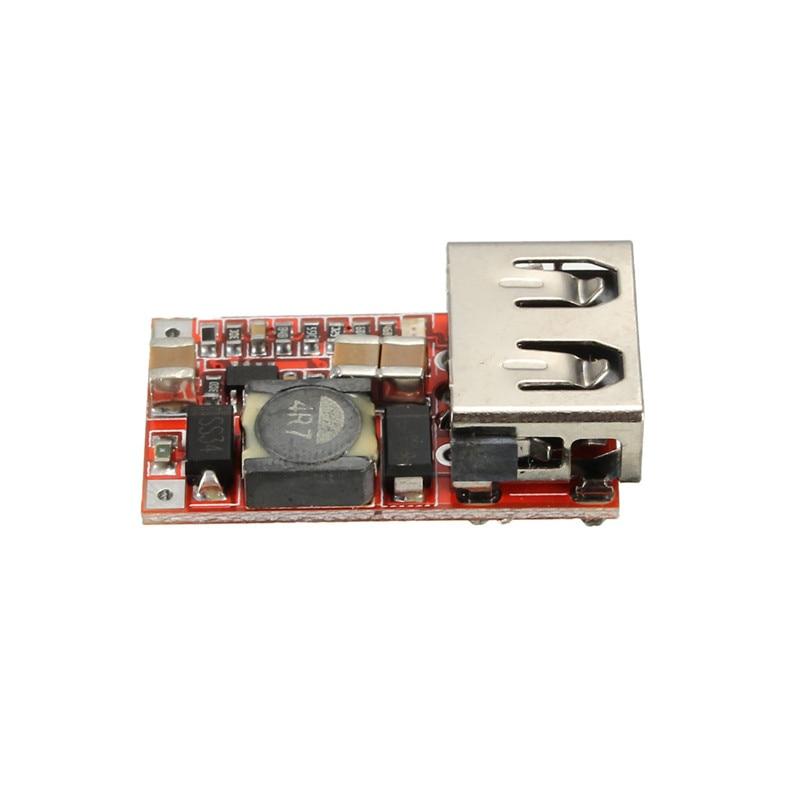 Nuevo Convertidor DC-DC 6-24 V 12 V/24 V a 5 V 3A Cargador de Coche USB Para Mód