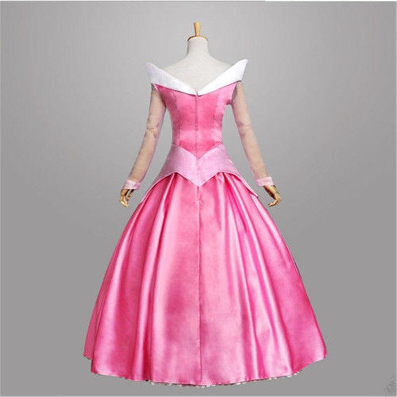 Купить с кэшбэком Free shipping adult Sleeping Beauty Aurora princess dress performs costume game uniform Princess playing Cosplay anime Costume