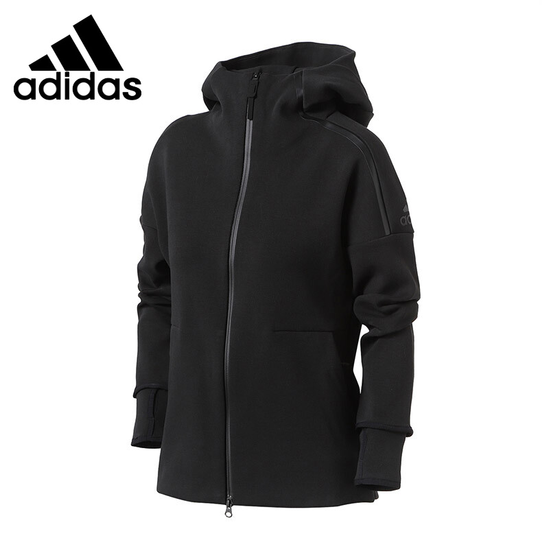 US $92.4 30% OFF|Original New Arrival Adidas ZNE HOODIE 2 Women's jacket Hooded Sportswear in Running Jackets from Sports & Entertainment on