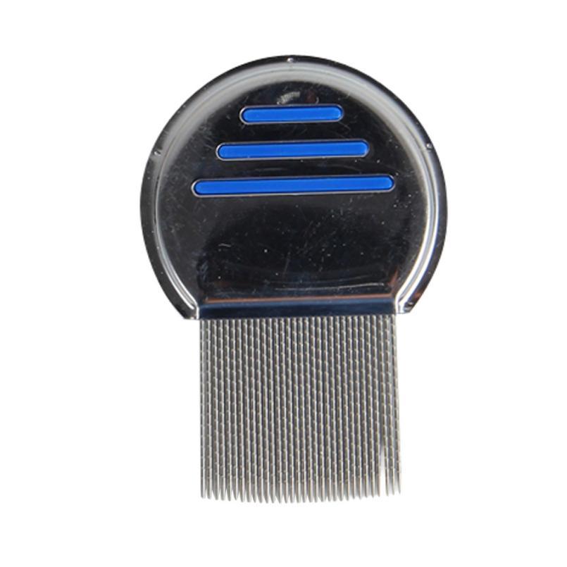 Rambut Combs Terminator Kutu Serbuk Menanggalkan Headlice Logam tahan - Penjagaan rambut dan penggayaan - Foto 3