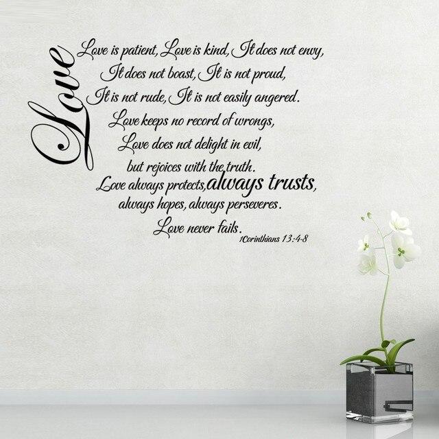 Corinthians 13 4 8 Love Chapter Love Is Patient Love Never Fails
