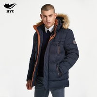 HYC Plus Size Windbreaker Faux Fur Coat Slim Hot Sale Cheap Clothes China Military Jacket Male