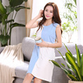 Quality cotton nightdress summer sexy woman refreshing comfortable large size XXL  free home delivery
