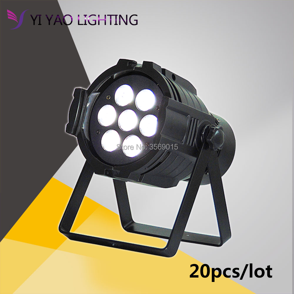 20pcs/lot 7x12w led par Stage RGBW 4 in 1 DMX512 with 4 Control Mode for DJ KTV Disco Party Ballroom20pcs/lot 7x12w led par Stage RGBW 4 in 1 DMX512 with 4 Control Mode for DJ KTV Disco Party Ballroom
