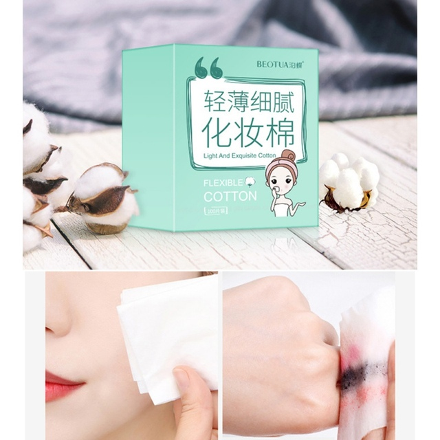 Cotton Cleansing Remover Cotton Women Facial Skin Care  1