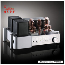 Yaqin MS 300C MC 300C ברמת קצה אחד 300B צינור ואקום שסתום HiFi מגבר כוח עם שלט רחוק