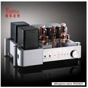 Image 1 - Yaqin MS 300C MC 300C Klasse Een end 300B vacuüm buis klep HiFi eindversterker met afstandsbediening