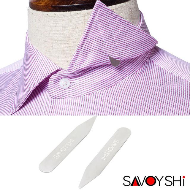 Custom Name High Grade Metal Stainless Steel Collar Stays Bones Bf Son Shirt Bone