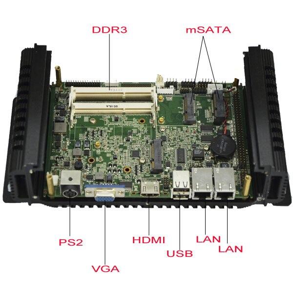 mini-PCI-e Fanless Iindustrial PC( LBOX-2550)