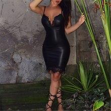 Сексуальное женское платье модные кружевные платья на бретелях