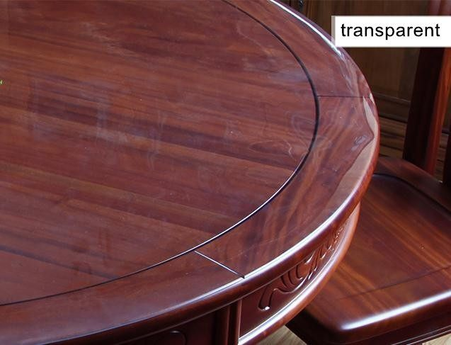 ПВХ скатерти см стола 60 из Сделанные заказ 1 прозрачные Кристальные 160 скатерти на см пластиковые ПВХ матовые мягкого для стекла 5 мм 8wNnO0vm