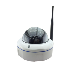 Camhi Audio HD 720P wireless wifi proof Dome IP Camera Network metallic light 30IR night vision security