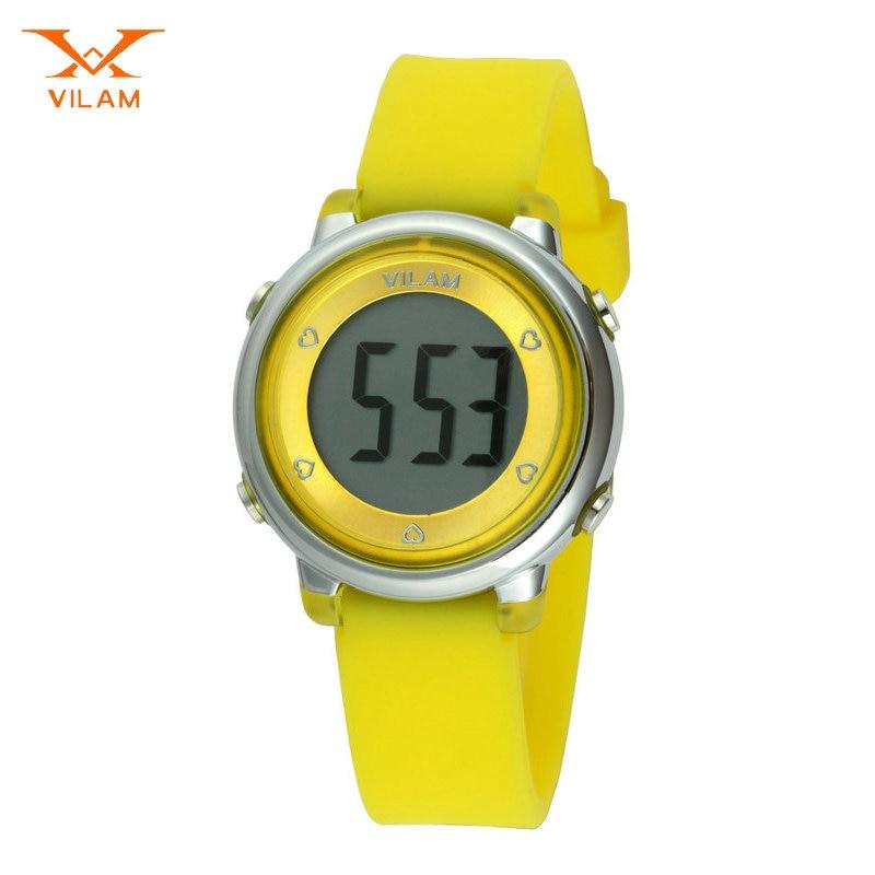 Young Children Wrist Watches Student Wristwatch School Clock Digital Chronograph Waterproof Candy Cute Girls Sport Watch