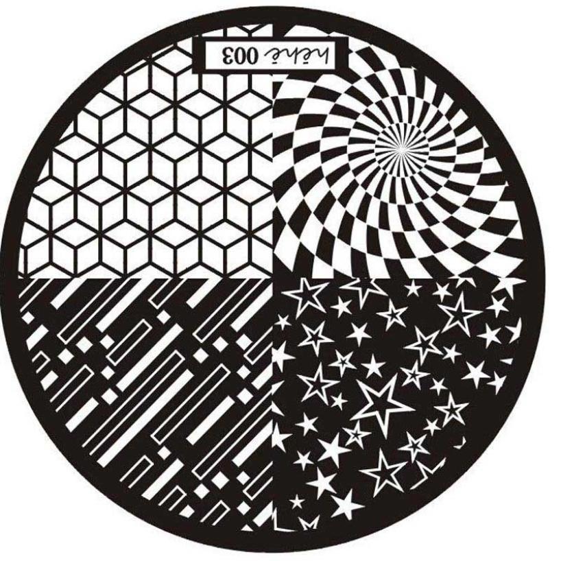 Naujas modelis nagų dailės įvaizdžio antspaudo štampavimo - Nagų menas