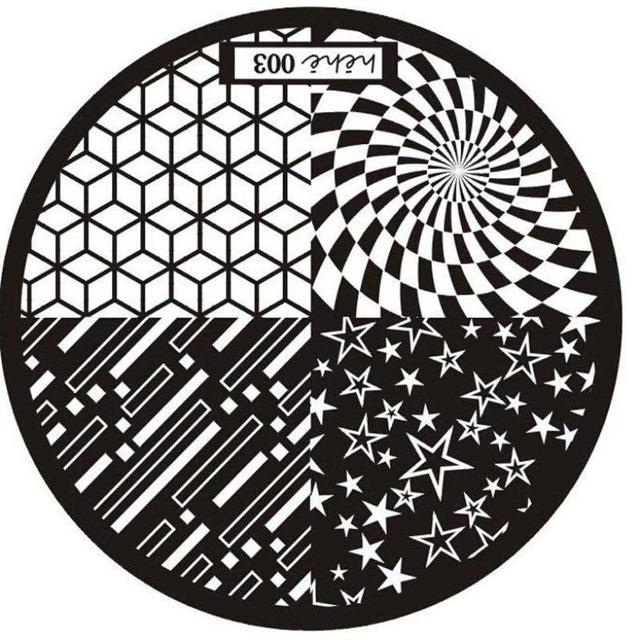 New Pattern Nail Art Stamping Plates Template